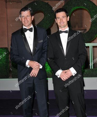 Tim Henman and guest