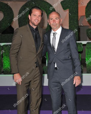 Xavier Malisse and guest