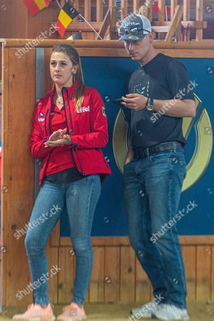 Gina Maria Schumacher, friend, Iain Bethke, Reigning Tournament, Western Riding, CS Ranch