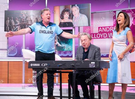 Editorial image of 'Good Morning Britain' TV show, London, UK - 15 Jul 2019