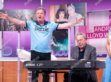 Editorial photo of 'Good Morning Britain' TV show, London, UK - 15 Jul 2019