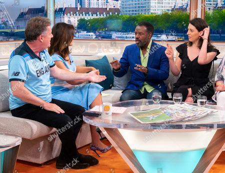 Piers Morgan and Susanna Reid, David Grant, Madeleine Grant