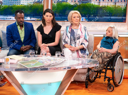 Editorial picture of 'Good Morning Britain' TV show, London, UK - 15 Jul 2019
