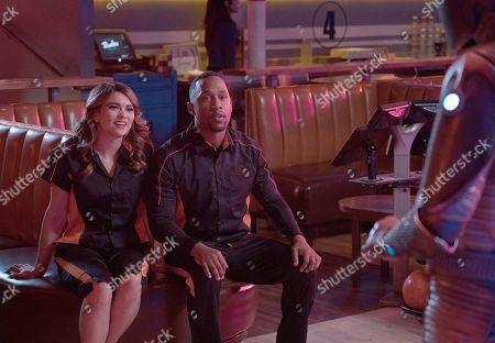 Kyra Santoro as Ensign Turco and J Lee as Lt. Cmdr. John LaMarr