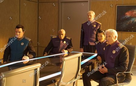 Seth MacFarlane as Capt. Ed Mercer, Ron Canada as Admiral Tucker, Victor Garber as Admiral Halsey, Kelly Hu as Admiral Ozawa and Ted Danson as Admiral Perry