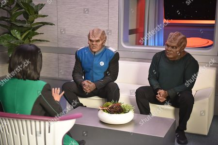 Peter Macon as Lt. Cmdr. Bortus and Chad L. Coleman as Klyden