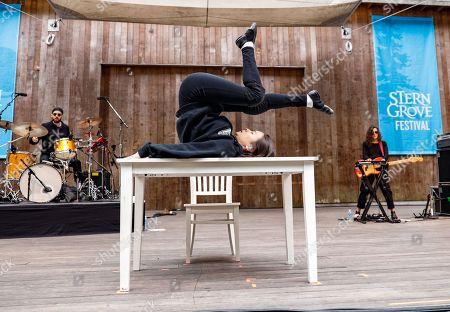 Editorial image of Mitski in concert at Stern Grove, San Francisco, California, USA - 14 Jul 2019