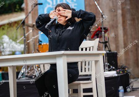 Editorial photo of Mitski in concert at Stern Grove, San Francisco, California, USA - 14 Jul 2019