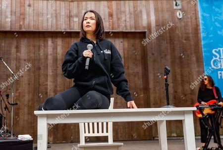Editorial picture of Mitski in concert at Stern Grove, San Francisco, California, USA - 14 Jul 2019