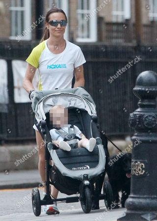 Exclusive - Pippa Middleton out and about, London