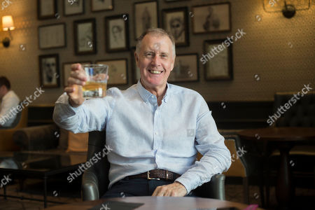 Sir Geoff Hurst. 1966 World Cup Hat-trick Hero Sir Geoff Hurst Enjoys A Jack Daniel's And Ginger Ale. Football Feature 1966 World Cup Winner. Picture Graham Chadwick.