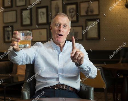 Editorial photo of Sir Geoff Hurst. 1966 World Cup Hat-trick Hero Sir Geoff Hurst Enjoys A Jack Daniel's And Ginger Ale. Football Feature 1966 World Cup Winner. Picture Graham Chadwick.