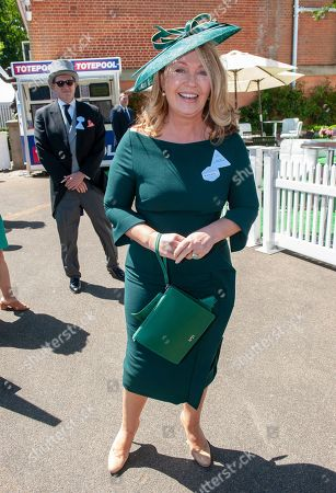 Bbc Presenter Kirsty Young Arriving For Ladies Day Of Royal Ascot. 21/06/2018.