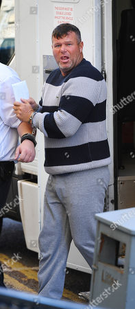 Editorial picture of Thomas Ward 43 Also Known As 'big John' (ringleader) Arrives At Magistrates Court. - Travellers Appear At Blackburn Magistrates Court Lancs On A Combination Of Suspicion Of Burglary And Shoplifting At The Thwaites Brewery In May When More Than 100