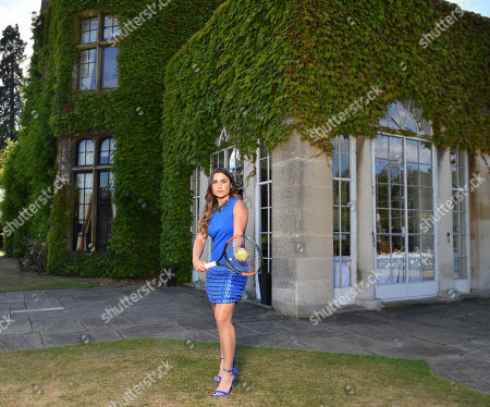 Gabriella Taylor . British Tennis Player Gabriella Taylor. Tennis Feature Wimbledon Preview 2018.