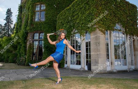 Gabriella Taylor . British Tennis Player Gabriella Taylor. tennis Feature Wimbledon Preview 2018..