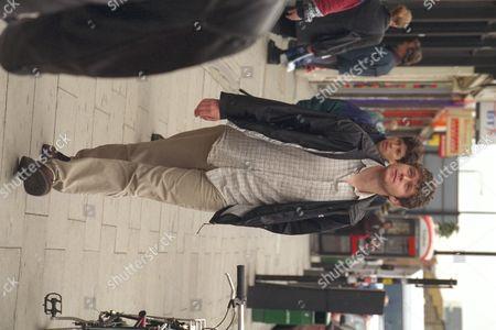 Looking For Work...(camden Job Club) Musician/song Writer Steven Parker Seen In Camden London.