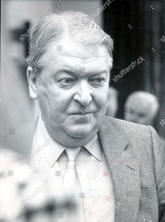 Stock Photo of Kingsley Amis. 1986 Leading Author Sir Kingsley Amis. Booker Prize Finalist.