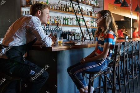 Jimmi Simpson as Peter Rake and Kylie Rogers