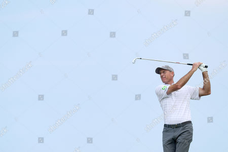 Jim Furyk of The USA tees off the 6th