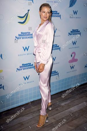 Editorial photo of Sports Illustrated Swimsuit show, Photocall, Miami Swim Week,Florida, USA - 14 Jul 2019