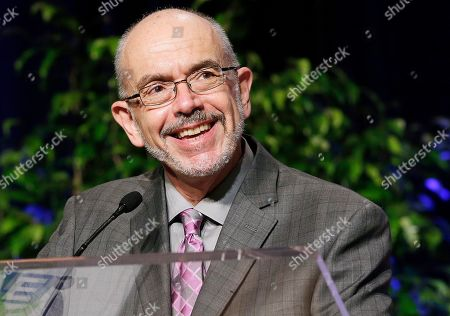 Stock Photo of Author Wally Lamb speaks at Book Expo America in New York. A writing program run by Lamb that was designed to give female prisoners a voice, has been suspended amid a lawsuit filed against Lamb and an investigation by the Connecticut Department of Correction. The inmates say they haven't been paid for their contributions to Lamb's third anthology of writings designed to give female prisoners a public voice