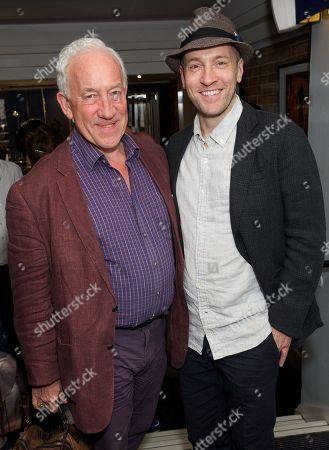 Simon Callow and Derren Brown