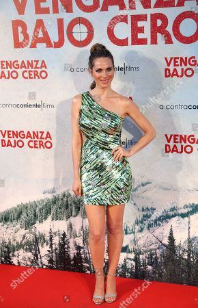 Vanesa Romero poses during the press preview of 'Cold Pursuit' at the Capitol Cinemas in Madrid, Spain, 15 July 2019. The movie premieres in Spanish theaters on 26 July.