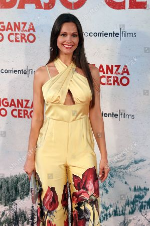 Eva Marciel poses during the press preview of 'Cold Pursuit' at the Capitol Cinemas in Madrid, Spain, 15 July 2019. The movie premieres in Spanish theaters on 26 July.