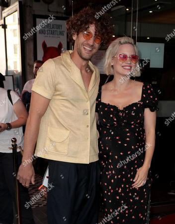 Max Rogers and Kimberly Wyatt