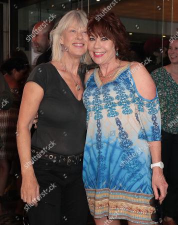 Kathy Lette and Nettie Mason
