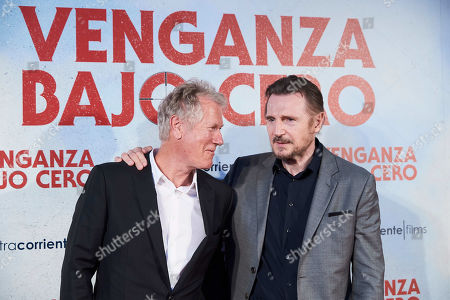 Hans Petter Moland and Liam Neeson