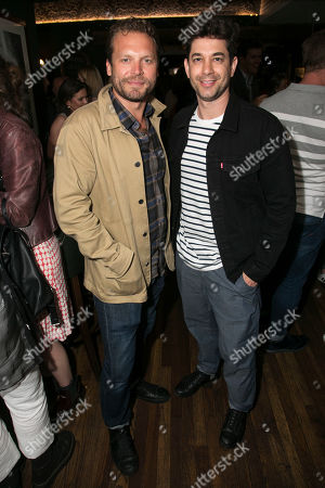Lex Shrapnel and Adam Garcia