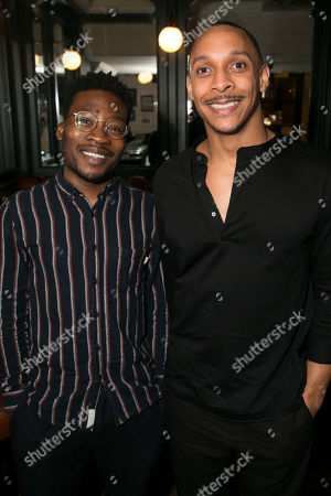 Fisayo Akinade and Craig Stein