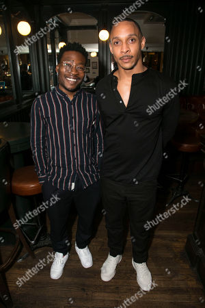 Stock Image of Fisayo Akinade and Craig Stein