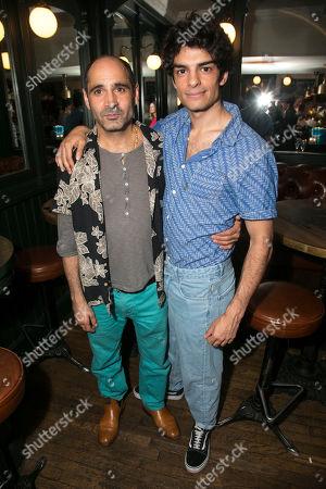 Zubin Varla (Martin Dysart) and Ethan Kai (Alan Strang)