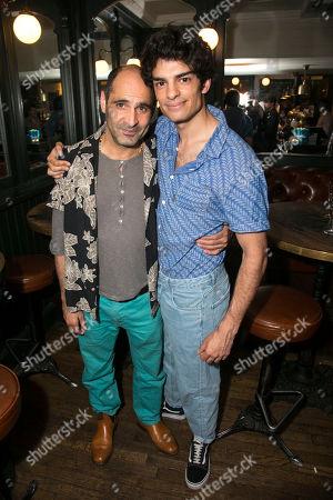 Stock Photo of Zubin Varla (Martin Dysart) and Ethan Kai (Alan Strang)