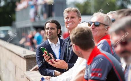Editorial image of Race Against Dementia Endurance Race Launch, Larkhall Karting Circuit, Scotland, UK - 15 Jul 2019