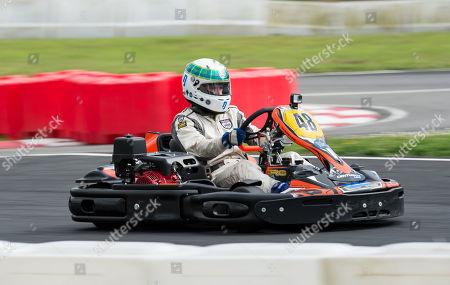 Paul Stewart son of Sir Jackie Stewart racing on the track