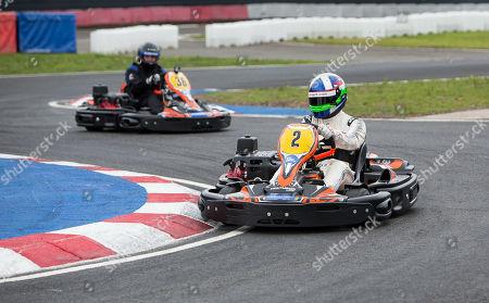 Editorial photo of Race Against Dementia Endurance Race Launch, Larkhall Karting Circuit, Scotland, UK - 15 Jul 2019