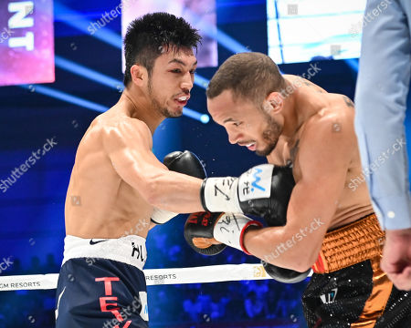 Ryota Murata of Japan in action against Rob Brant of United States