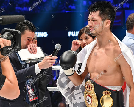 Editorial photo of WBA Middleweight title bout, Boxing, Edion Arena Osaka, Osaka, Japan - 12 Jul 2019