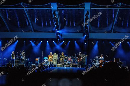 Nick Daniels, Ian Neville, Alvin Ford, Jr., Tony Hall, Ivan Neville. Nick Daniels, from left, Ian Neville, Alvin Ford, Jr., Tony Hall, and Ivan Neville of Dumpstaphunk perform before The Rolling Stones at the Mercedes-Benz Superdome, in New Orleans