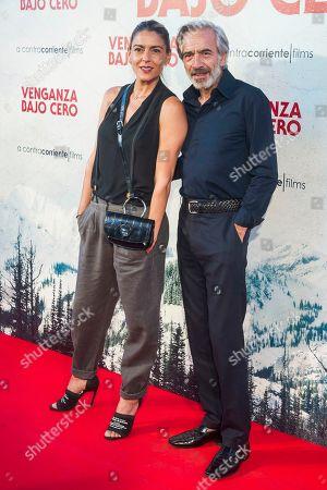 Stock Photo of Irene Meritxell and Imanol Arias