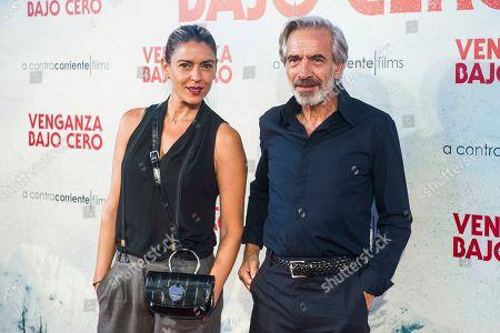 Irene Meritxell and Imanol Arias