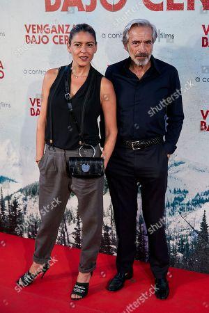 Stock Image of Irene Meritxell and Imanol Arias