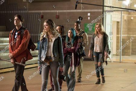 Ryan McCartan as Ollie, Meghan Rienks as Zoe Parker, Joy Osmanski as Felicity, Niki Demartino as Sadie, Jordan Calloway as Zane and Saxon Sharbino as Anka