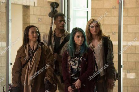 Joy Osmanski as Felicity, Jordan Calloway as Zane, Niki Demartino as Sadie and Saxon Sharbino as Anka