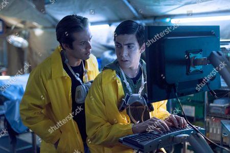 Leo Howard as Grover Jones and Tyler Chase as Barrett McIntyre