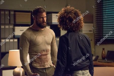 Brant Daugherty as Jake and Tati Gabrielle as Birdie